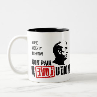 Ron Paul Revolution - Hope For America Mug