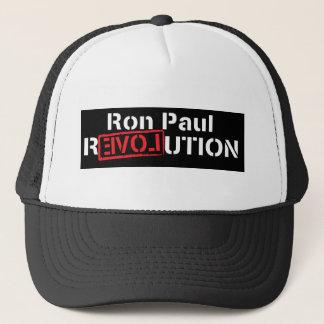 ron paul revolution in dark shirt trucker hat
