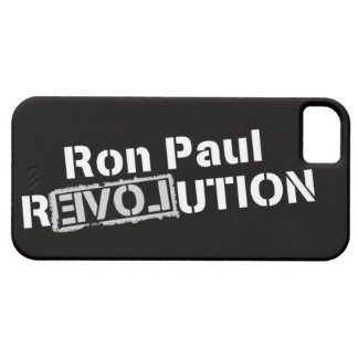 Ron Paul Revolution iPhone5 Cover iPhone 5 Case
