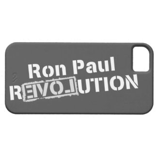 Ron Paul Revolution iPhone5 Cover iPhone 5 Cases