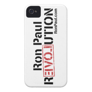 Ron Paul Revolution iPhone 4 Case-Mate Cases