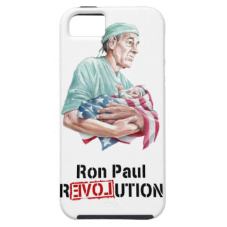 Ron Paul Revolution iPhone Case v1 iPhone 5 Covers