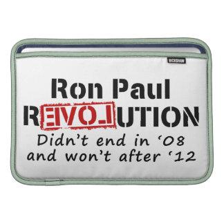 Ron Paul rEVOLution it didn't end in '08 MacBook Air Sleeve