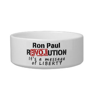 Ron Paul rEVOLution It's a message of Liberty Bowl