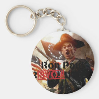 Ron Paul revolution key chain