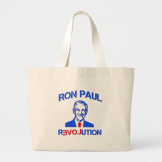 Ron Paul Revolution Large Tote Bag