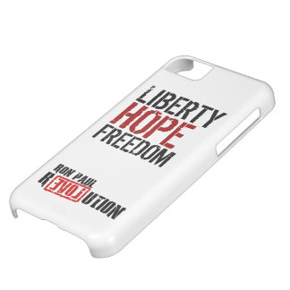 Ron Paul Revolution - Liberty, Hope, Freedom Case For iPhone 5C