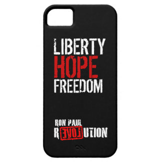 Ron Paul Revolution - Liberty, Hope, Freedom iPhone 5 Covers