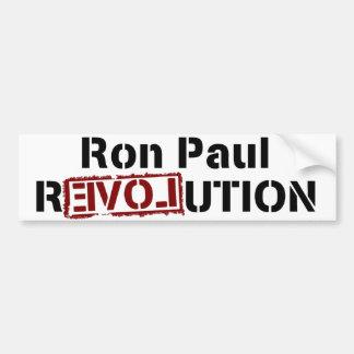Ron Paul Revolution Love 2012 Bumper Sticker