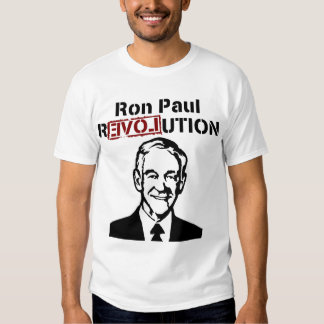 Ron Paul Revolution Love 2012 Shirt