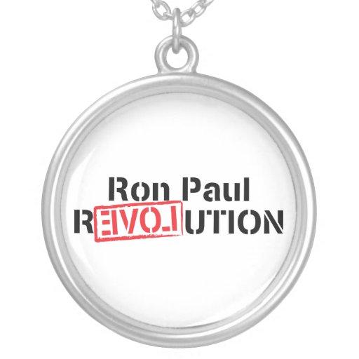 Ron Paul Revolution Necklace