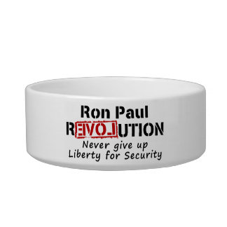Ron Paul rEVOLution Never give up Liberty Bowl