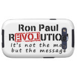 Ron Paul rEVOLution not the man but the message Galaxy S3 Cover