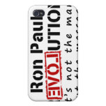 Ron Paul rEVOLution not the man but the message iPhone 4 Cover