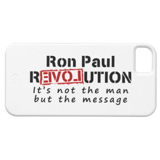 Ron Paul rEVOLution not the man but the message iPhone SE/5/5s Case