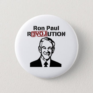 Ron Paul Revolution Pinback Button