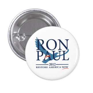 Ron Paul Revolution Pinback Button