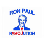Ron Paul Revolution Post Card