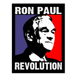 Ron Paul Revolution Postcard