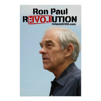 Ron Paul Revolution Poster