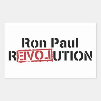 Ron Paul Revolution Rectangular Sticker