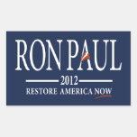 Ron Paul Revolution Rectangular Stickers