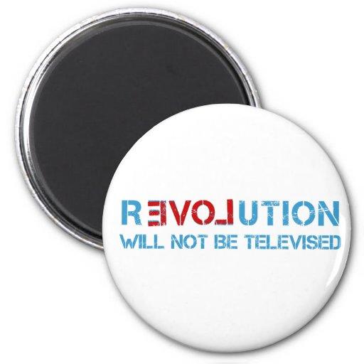 Ron Paul revolution Refrigerator Magnet