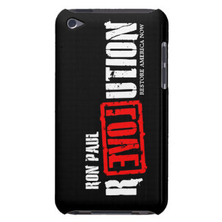 Ron Paul Revolution - Restore America Now Barely There iPod Case
