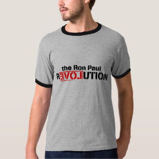 Ron Paul Revolution Ringer T T-Shirt
