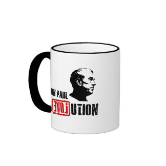 Ron Paul Revolution - Ron Paul 2012 Ringer Coffee Mug