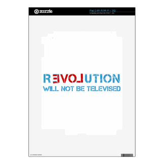 Ron Paul revolution Decal For iPad 2