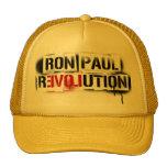 RON PAUL REVOLUTION STENCIL GRAFFITI HAT!