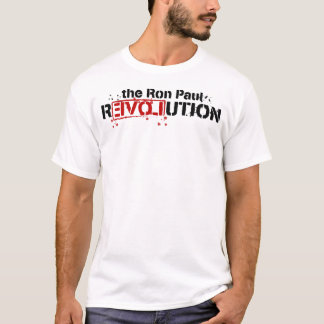 Ron Paul Revolution Stencil Shirt