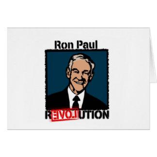 Ron Paul Revolution T-Shirt Greeting Card