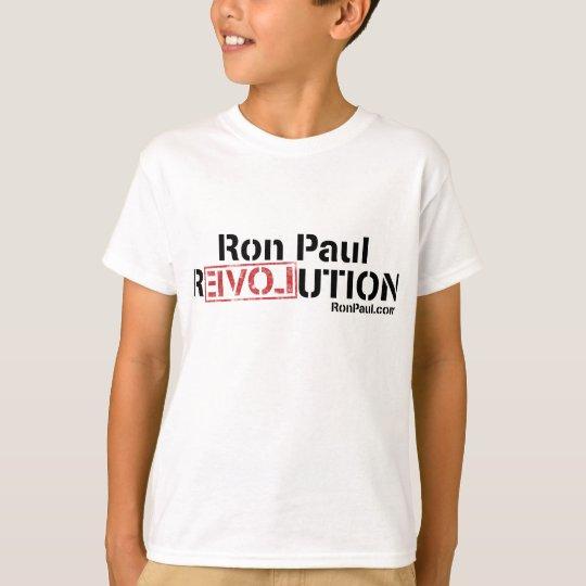 Ron Paul Revolution T-Shirt Kids