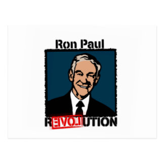 Ron Paul Revolution T-Shirt Postcard