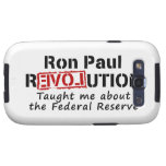 Ron Paul rEVOLution Taught me the Federal Reserve Galaxy S3 Covers