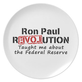 Ron Paul rEVOLution Taught me the Federal Reserve Plate