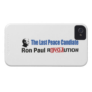 Ron Paul Revolution The Last Peace Candidate iPhone 4 Cover