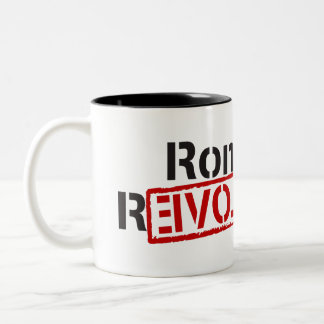 Ron Paul Revolution Two-Tone Coffee Mug
