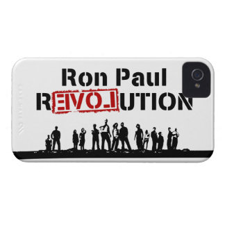 Ron Paul rEVOLution with Supporters iPhone 4 Case