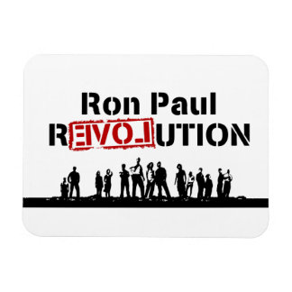 Ron Paul rEVOLution with Supporters Magnet
