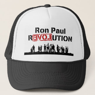 Ron Paul rEVOLution with Supporters Trucker Hat