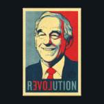 "Ron Paul Revolution Wrapped Canvas<br><div class=""desc"">Ron Paul Revolution canvas.</div>"