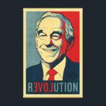 "Ron Paul Revolution Wrapped Canvas<br><div class=""desc"">Ron Paul Revolution canvas.</div>"