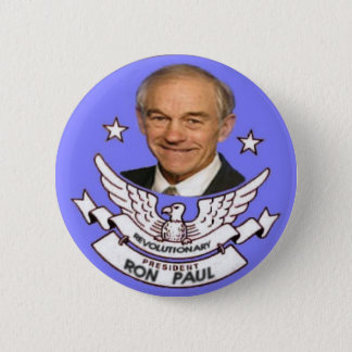Ron Paul Revolutionary President Button