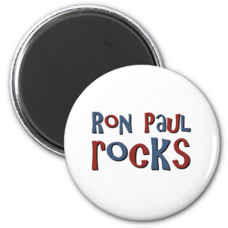 Ron Paul Rocks 2 Inch Round Magnet