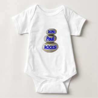 Ron Paul Rocks! Baby Bodysuit