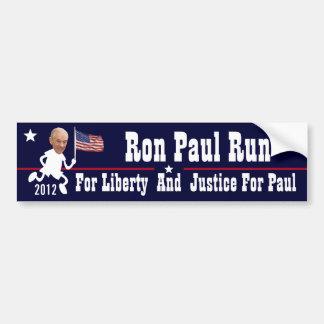 Ron Paul Run Bumper Sticker