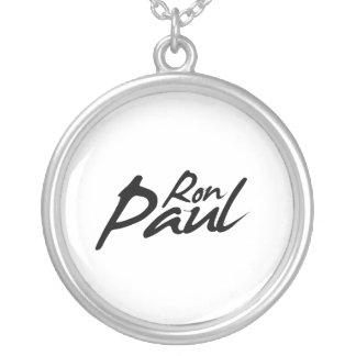 RON PAUL Signature Round Pendant Necklace